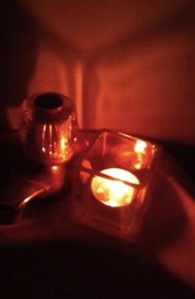 熄燈日浴室