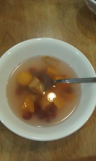 蔓越莓薑塊地瓜湯