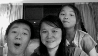 3人搞笑臉